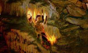Где находится национальный парк «Мамонтова пещера» (на карте, координаты)