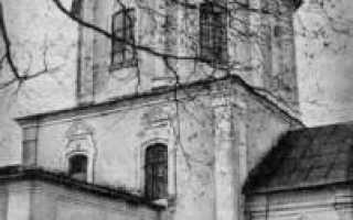 Храм Тихвинской иконы Божией Матери в Сущеве