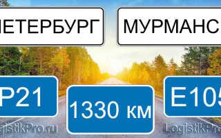Сколько км от Санкт-Петербурга до Мурманска: на машине, поезде, самолете